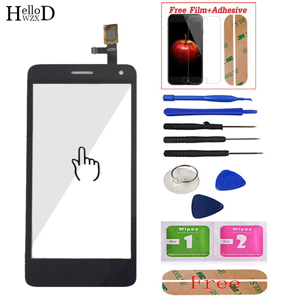 4.7'' Mobile Touch Screen For Lenovo S660 S 660 Touch Screen Digitizer Panel Front Glass Sensor Tools Adhesive Screen Protector