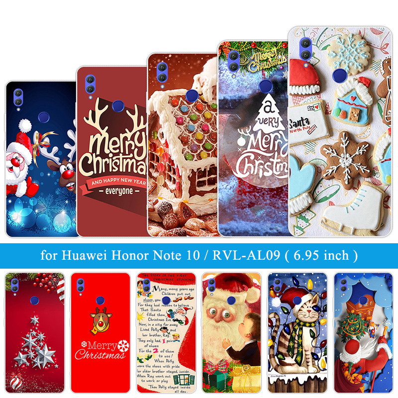 Ultrathin Silicone Christmas Shell For Huawei Honor