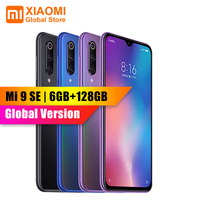 Global Version Xiaomi Mi 9 Mi9 SE 6GB 128GB Snapdragon 712 AMOLED Pocket Size Big Picture 48MP AI Triple Camera Smartphone