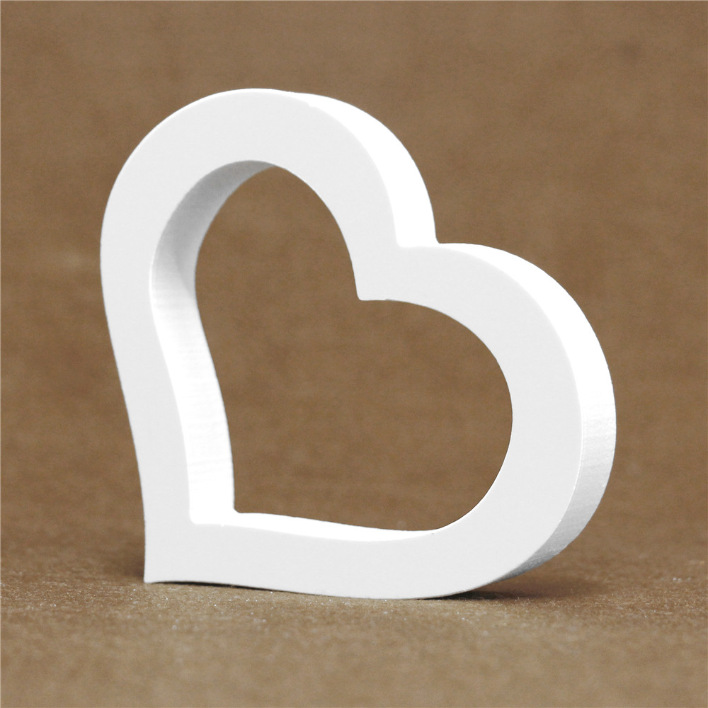 Stand Freely And Add 20MM Thick White Wood Wooden Letters Todecorate Your Your Wedding Home For Name And Logo
