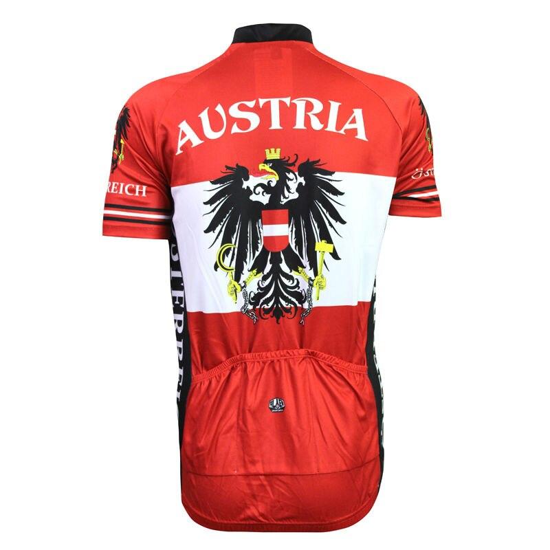 Alien SportsWear Αυστρία σημαία μοτίβο - Ποδηλασία - Φωτογραφία 2