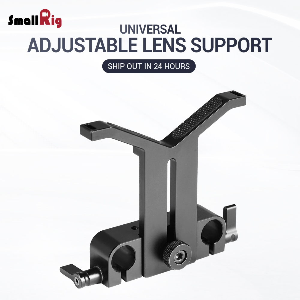 SmallRig Universal Lens Support with 15mm LWS Rod Clamp 1784SmallRig Universal Lens Support with 15mm LWS Rod Clamp 1784