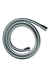 hansgrohe Isiflex shower hose 1.60 m, anti kink and tangle free, chrome effect 28276000