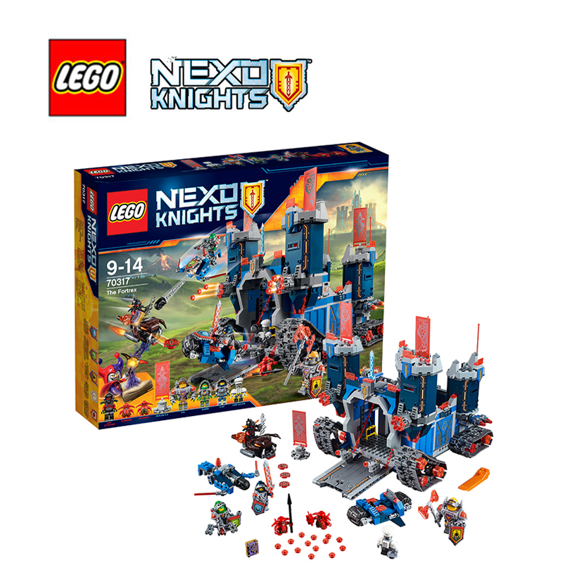 Lego nexo knights building bricks toy The Fortrex Building blocks Toy for children LEGC70317 replacement for samsung galaxy tab s 10 5 t800 for sm t805 touch screen digitizer glass sensor panel 1 pcs free shipping