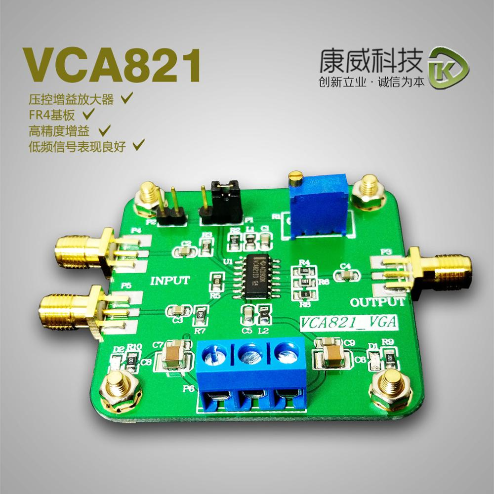 Voltage controlled gain amplifier module VCA821 module electronic competition to ensure that the latest new