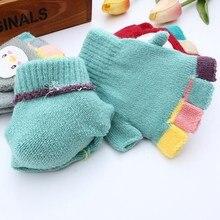 Warm Mitten Fingerless Gloves