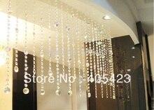 10 м/лот вход свадьбы украшения дома / перегородка AB подсолнечника бусины кристалл бисера занавес