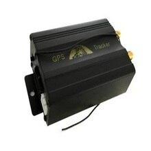 5 unids GPS Del Vehículo Perseguidor GPS103B TK103B cortar el Aceite/Potencia Sistema geo-cerca, Con caja