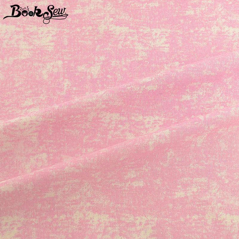 Booksew Africano Ankara Tintura del Tessuto Rosa Panno di Cotone di Tela Borsa FAI DA TE Tenda Tissus Au Metro Patchwork Cucito Materiale Tovaglia