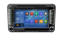 ROM 16G 1024*600 4Core Android 4.4.4 Fit SKODA OCTAVIA II  III FABIA SKODA SUPERB 2005-2010 Car head unit dvd GPS Radio 3G WIFI
