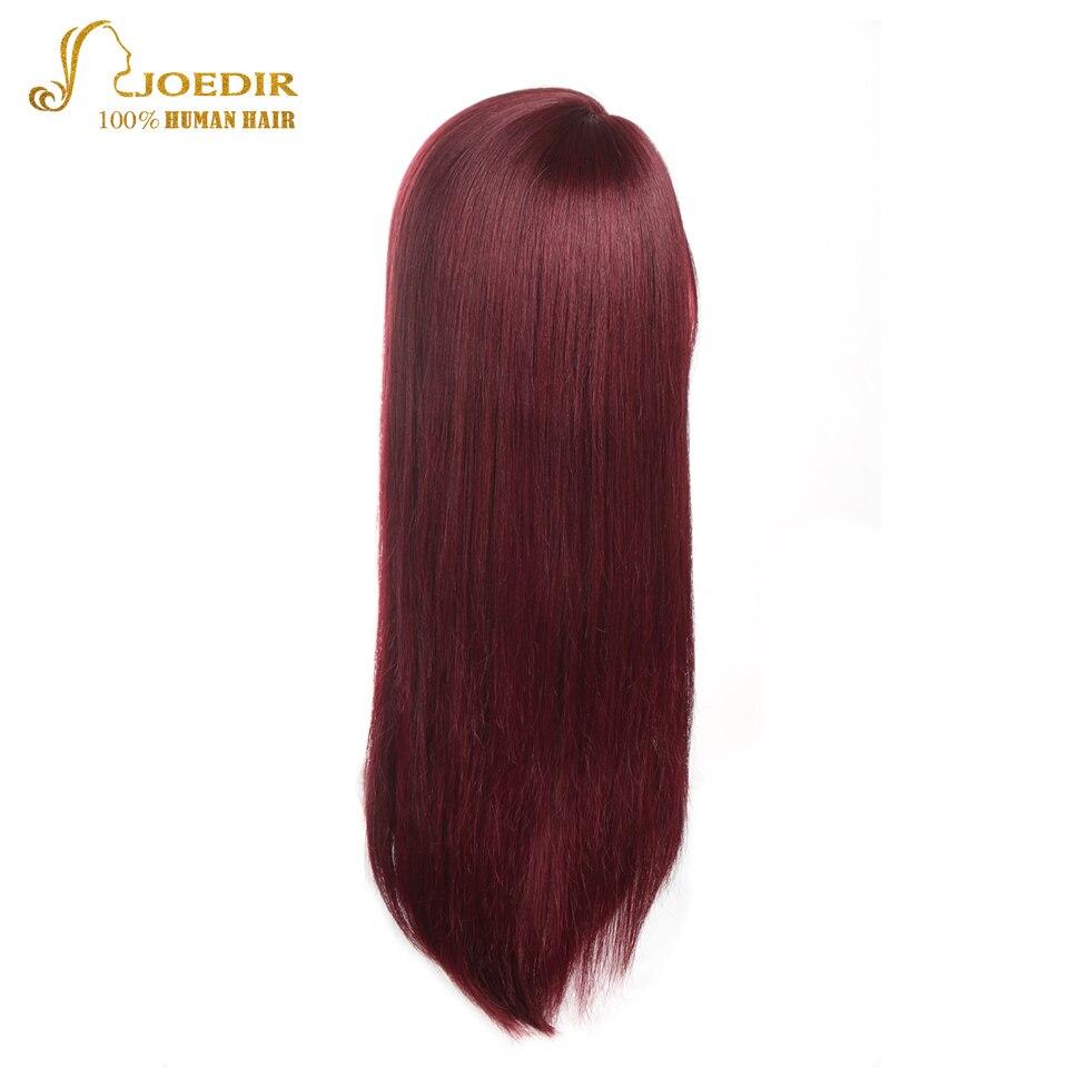JOEDIR Волосы Длинные прямые парик Синтетические волосы на кружеве человеческих волос парики J часть парик коричневый/черный/белый/оранжевый/ ...