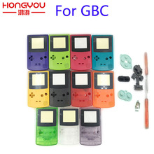 Новый чехол с полным корпусом для Nintendo Game boy Color GBC, запасная часть корпуса