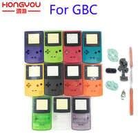 Nueva carcasa completa para Nintendo Game para chico de color GBC pieza de reparación Paquete de carcasa