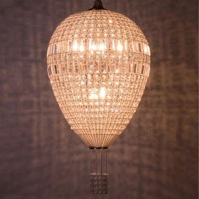 Винтажный свет современный K9 хрустальные светильники lamparas подвески для comedor Хрустальный подвесной светильник дизайн воздушного шара