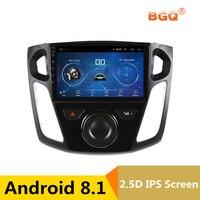 9 Android 8,1 автомобиль DVD мультимедийный плеер gps для Ford Focus 2012 2013 2014 2015 Аудио автомобилей Радио стерео навигатор Wi Fi