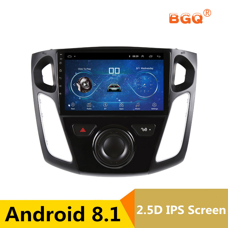 9 Android 8.1 Car DVD Multimedia Player GPS For Ford Focus 2012 2013 2014 2015 audio car radio stereo navigator wifi for ford focus 3 2012 2013 2014 2015 car android unit 1 din dvd radio stereo audio multimedia video music player gps navigation