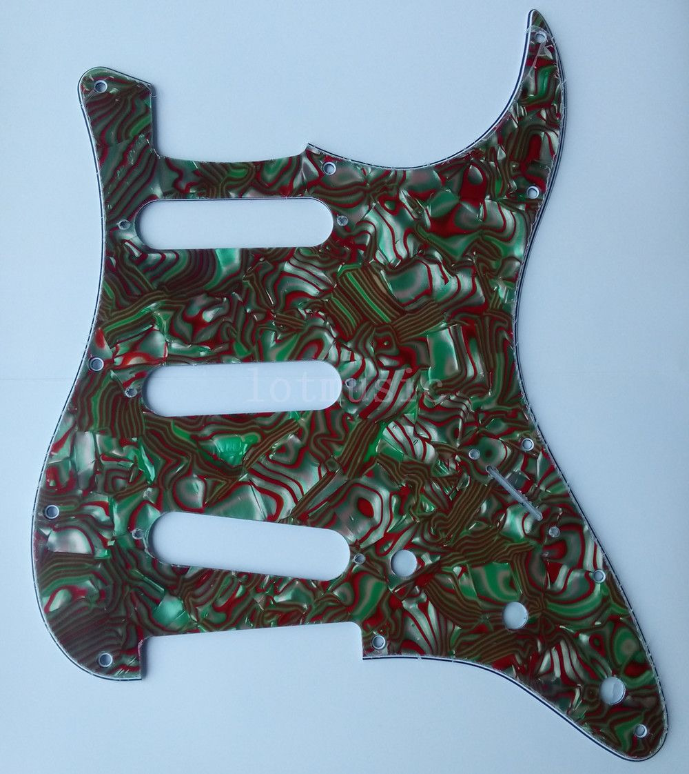 2pcs Pickguard New 3 Ply Green Shell For Fender Strat Commercial Single Outlet Receptacle Nema 6 20r 20a 250v 5823 Ebay Guitar Replacement
