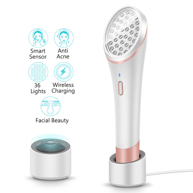Acne Clearing Red & Blue Light Therapy Acne Spot Treatment Facial Beauty Device UV-Free Acne SolutionAcne Clearing Red & Blue Light Therapy Acne Spot Treatment Facial Beauty Device UV-Free Acne Solution
