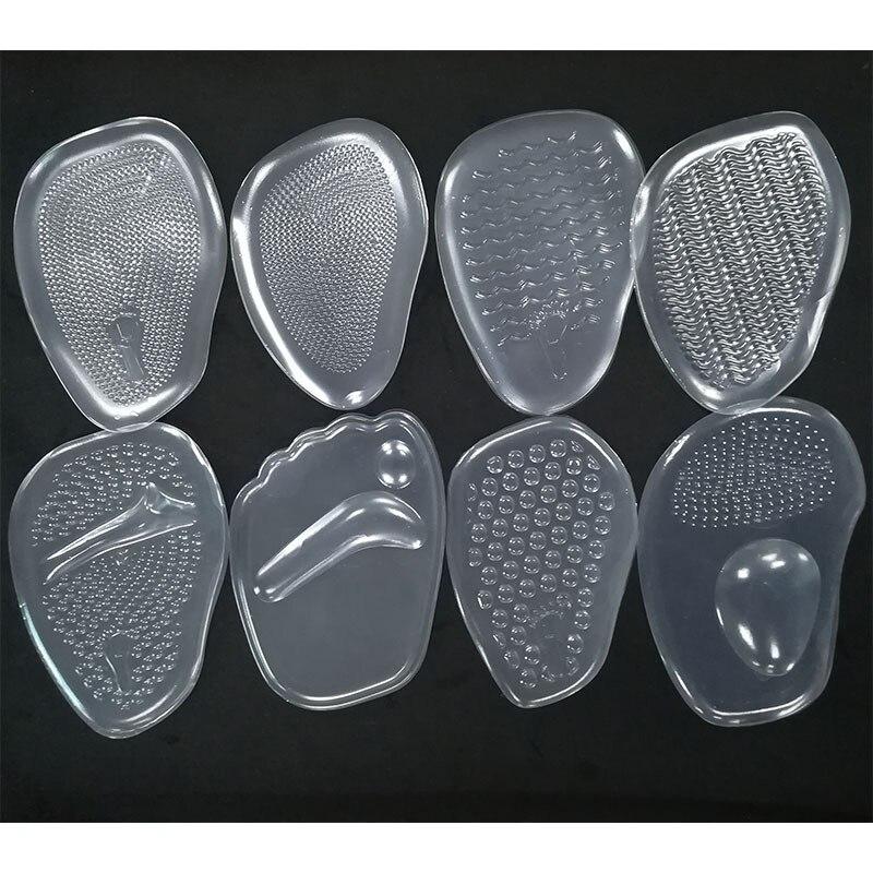 1 paire femmes doux Silicone Gel coussin semelles métatarsiennes Support insérer coussinet chaussures semelles