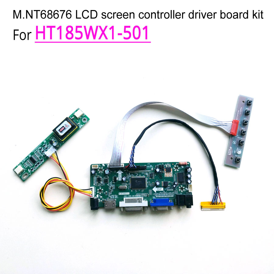 For HT185WX1 501 computer LCD monitor CCFL LVDS 18 5 60Hz 30 pins 1366 768 2