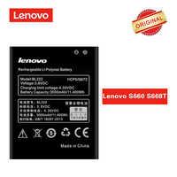 BL222 Original Batterie für Lenovo S660 S668T Li-polymer Akku Batterie 3000 mAh Reale Kapazität