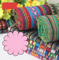 Fabric Jacquard Weave Strip For Handmade Sewing Material DIY Craft Sofa Table Pillow Shoe Bag Party