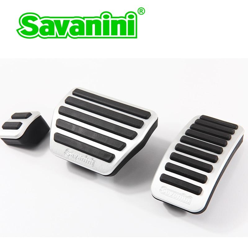 Savanini тормоза газа педаль акселератора Накладка для Infiniti QX60/QX80 и Nissan Murano авто без сверления алюминий
