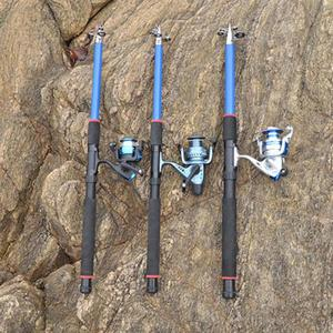 Image 4 - 釣竿 210 センチメートル、 240 センチメートル、 270 センチメートル、 300 センチメートル、 360 センチメートル炭素繊維ロッドスピニング釣竿鋳造旅行ロッド 4 節