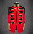 New Style Fashion Red Color Business Casual Male Slim Singer Dancing Costume Ds Dj Nightclub Bar Jazz Wear Men's Clothes