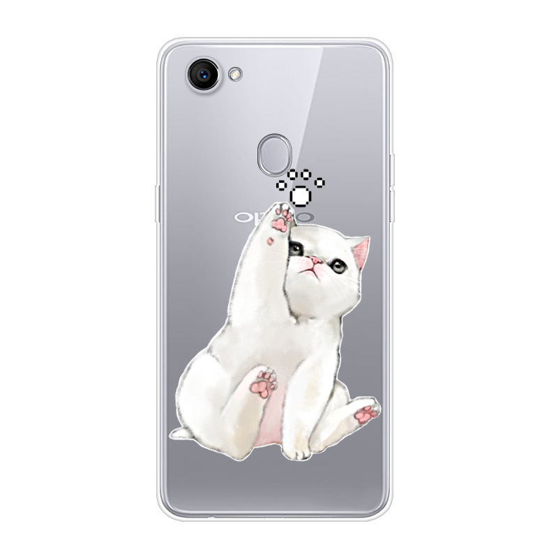 6.23 For OPPO F7 Case Silicone Soft TPU Clear Back Cover For OPPO F7 Cover For Fundas Oppo F7 F 7 Oppof7 7F Fashion Slim Para