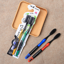 Most popular bamboo charcoal adult toothbrush