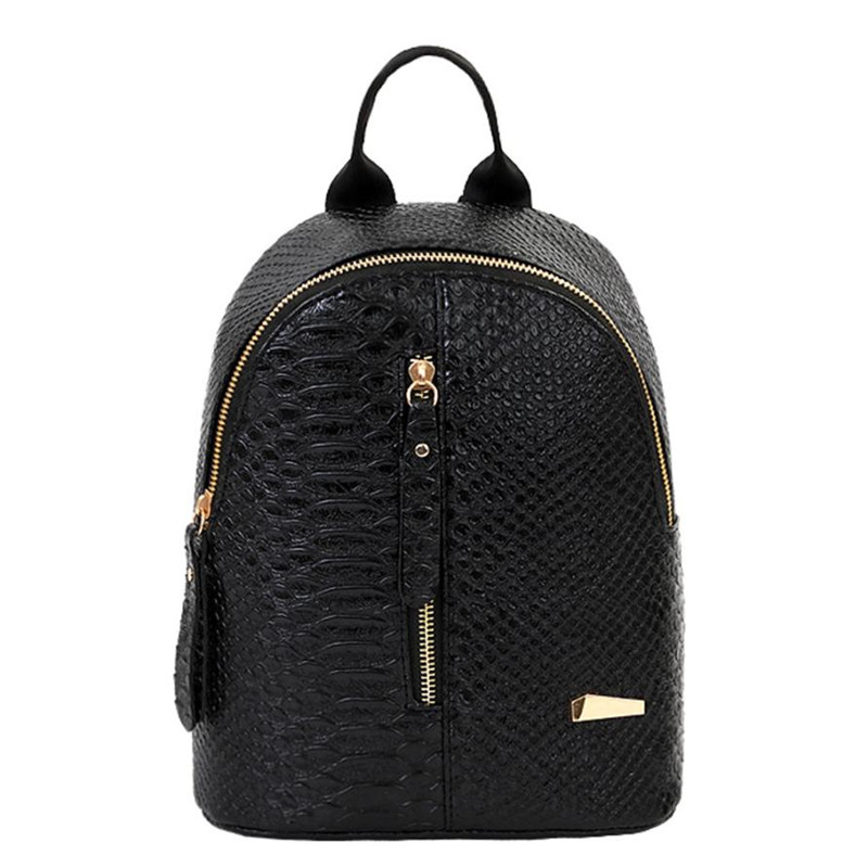 2017 Hot Chain Women Leather Backpacks School bags Rucksacks Travel Backpack female Shoulder Women Bag Mochila escolar feminina женское пальто elegant e13ac8011ai 13 ep e13ac8011a