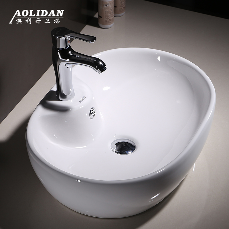 2017 Time-limited Sink Curtain Christmas Shower Taiwan Basin Above The Oval Increase Washbasins Ceramic Sanitary Ware Art Wash 2017 Time-limited Sink Curtain Christmas Shower Taiwan Basin Above The Oval Increase Washbasins Ceramic Sanitary Ware Art Wash
