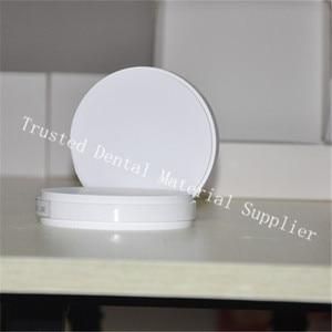 Image 1 - HEIßER! 1 stück ST HT OD98 * 16/18/20MM CAD/CAM Wieland System Zahn Zirkonia Block für Fräsen Maschine Zirkonium Keramik Blöcke