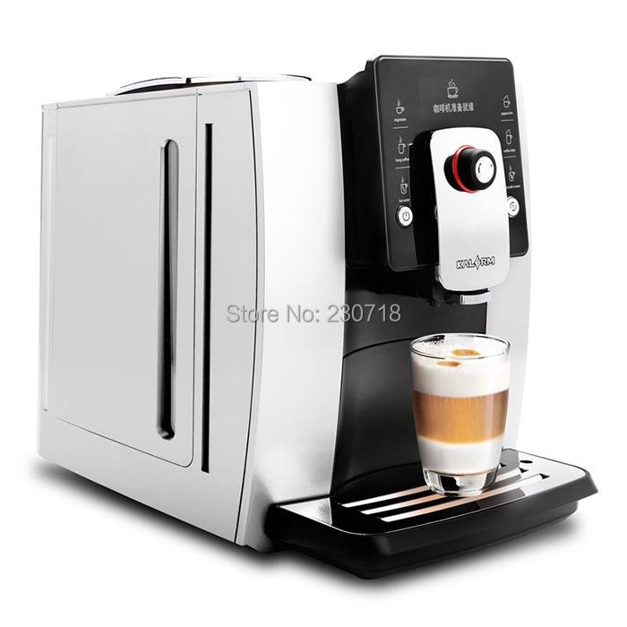 Full-Auto Kaffee Maschine Espresso Kaffee maker cuppuccino latte maker maschine büro verwenden Brauen Kaffee Maker mit Edelstahl