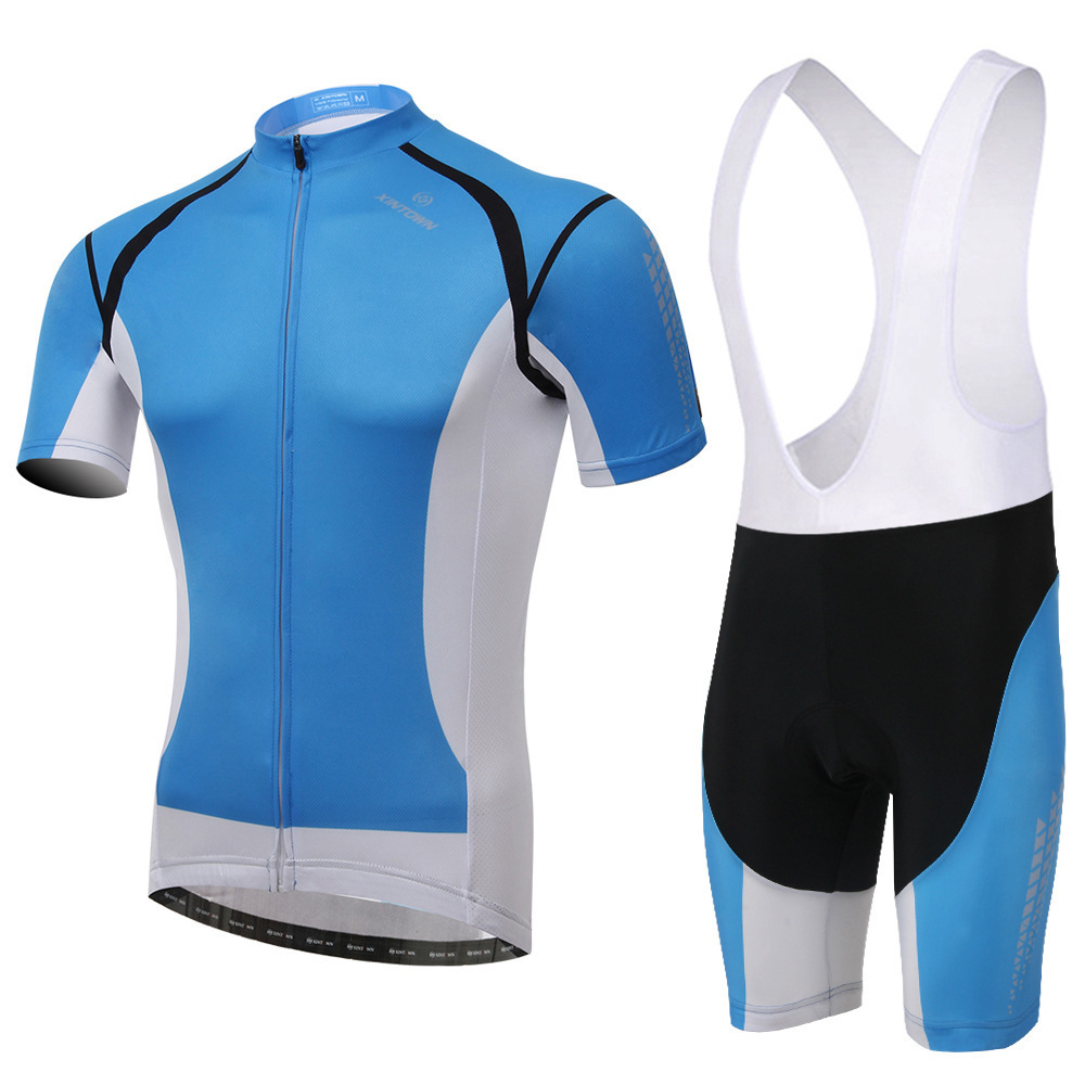 XINTOWN Bicycle Clothing Ropa Ciclismo Short Sleeve Gel Pad Bib Shorts Sport Clothes Men Pro MTB Road Bike Cycling Jersey Set polyester summer breathable cycling jerseys pro team italia short sleeve bike clothing mtb ropa ciclismo bicycle maillot gel pad