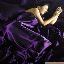 Акция Новое поступление! Комплект постельного белья из искусственного шелка. Постельное белье. Покрывало/простыня/пододеяльник, шелковое ощущение TSX