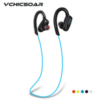 Vchicsoar S5 Wireless Bluetooth Earphones Sports Running Headset V4 1 Stereo HiFi Headphones Hands Free Calls
