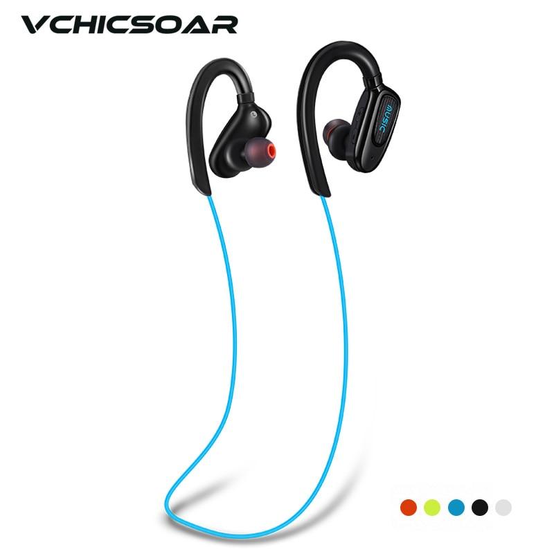 Vchicsoar S5 Wireless Bluetooth Earphones Sports Running Headset V4.1 Stereo HiFi Headphones Hands-free Calls Earbuds with Mic