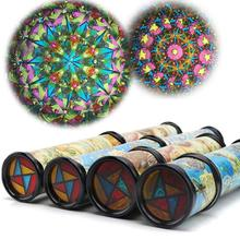 21cm Rotation Cute Classic Colorful Kaleidoscope Kids Fancy early Childhood Toys For Baby Children Gift