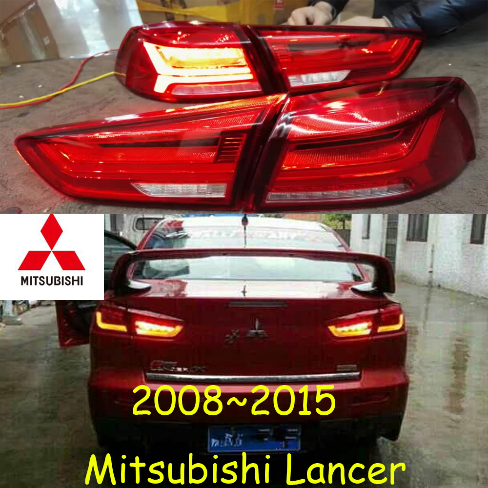 2008~2015year Tail Light For Lancer Taillight Brake LED Car Accessories Taillamp For Lancer Rear Light Fog
