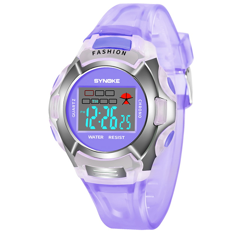 Watches Beautiful Childrens Watches Waterproof Children Watch Boys Girls Led Digital Sports Watches Silicone Rubber Kids Alarm Date Casual Watch
