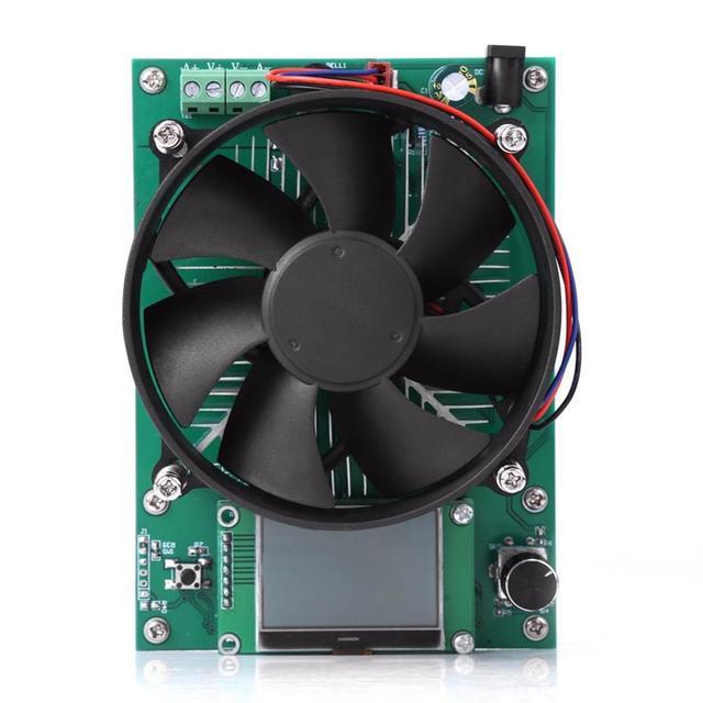 20 Вт постоянный ток электронная нагрузка 60 в 10A Батарея разрядка Емкость тестер метр батарея тестер модуль