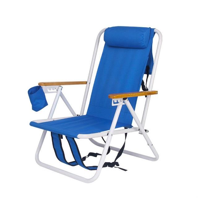 Aluminum Lightweight Folding Beach Chair Fishing Seat Paddle Board Kayak Boat