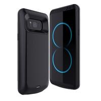 5000 mah/5500 mah Bateria Externa Caso de Telefone Para Samsung Galaxy Bateria Caso Carregador Para Samsung Galaxy S8 S8 mais Caso Powerbank
