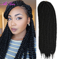 havana mambo twist crochet hair extensions senegal twist crochet super long hair extensions crochet braids curly hairpiece