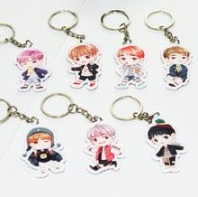 Фотография Kpop BTS Bangtan boys Jimin suga rap key ring