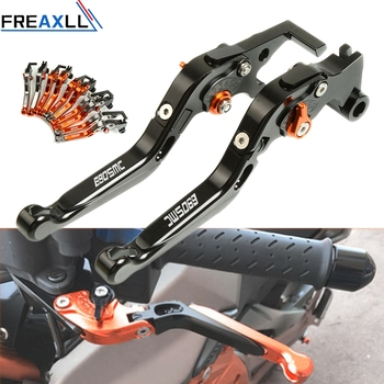 For KTM 690SMC 690 SMC R 2008-2017 CNC Aluminum Accessories Motorbike Handle Levers Motorcycle Adjustable Brake Clutch