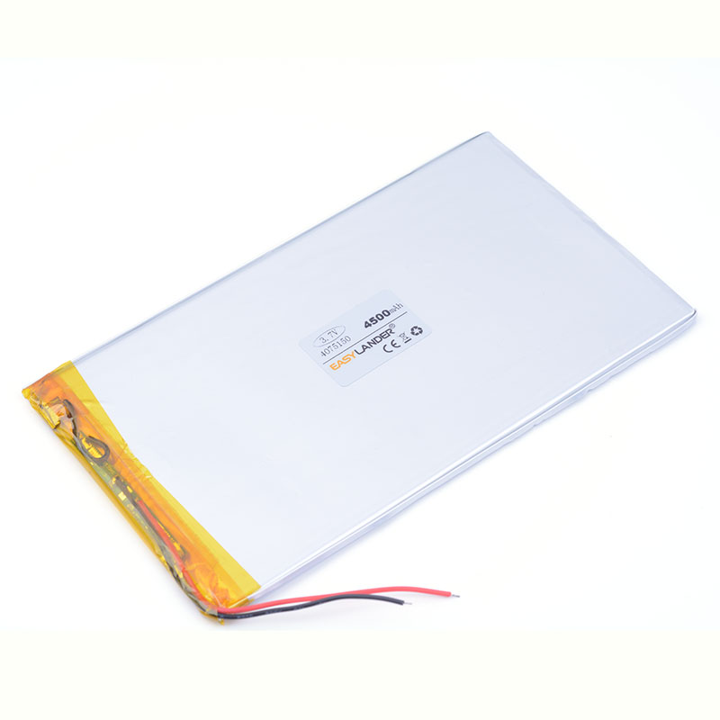 Polymer battery 9 inches tablet battery domestic the built-in rechareable battery 4500 mah 4075150 free shippin 0475150 ...
