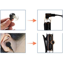 A-60 Rechargeable In-Ear Hearing Aid Adjustable Tone Sound Voice Amplifier Quality New Arrival